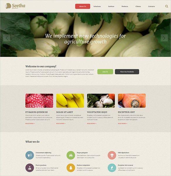6 Agriculture ZenCart Website Themes & Templates | Free & Premium ...