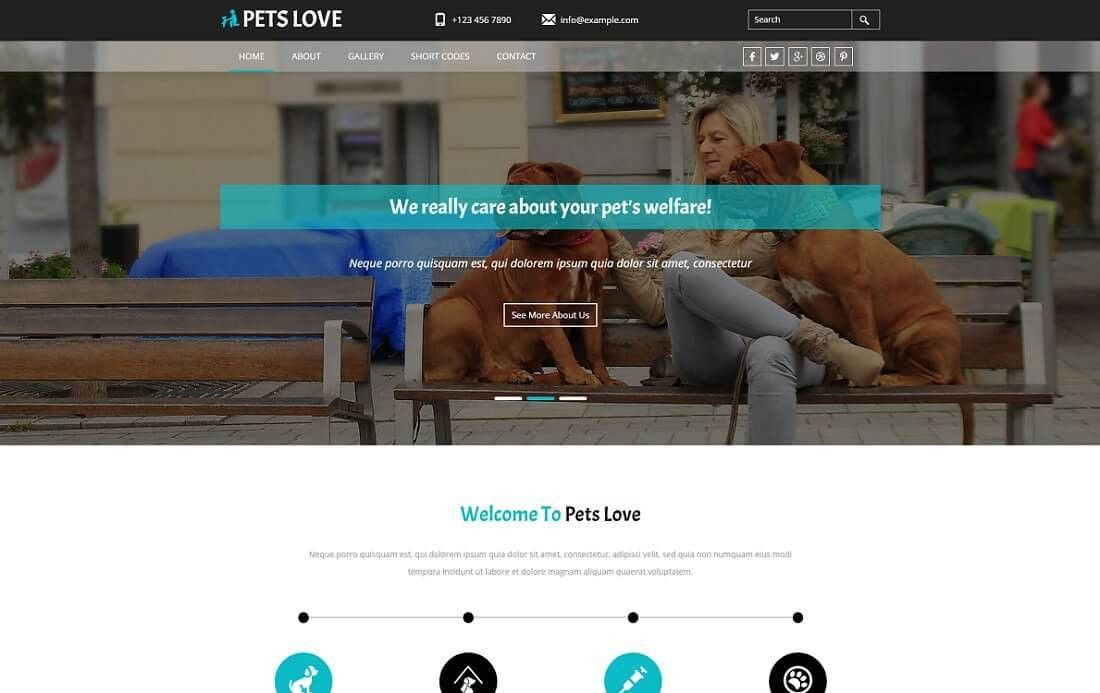 18 Free Simple Website Templates For Clean Sites Using HTML & CSS ...