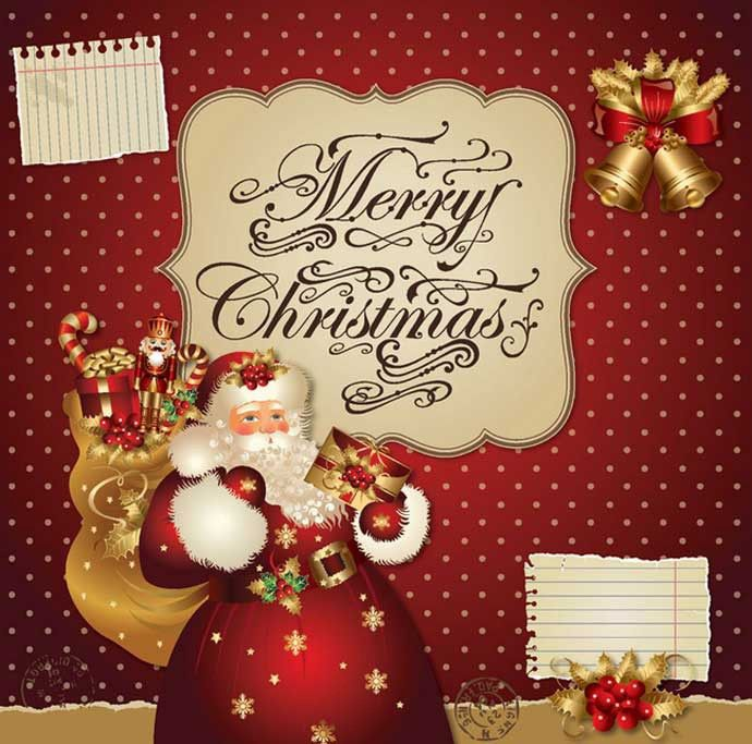 Christmas Poster Template | Webbyarts - Download Free Vectors ...