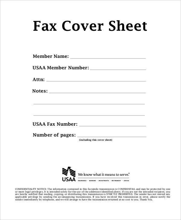 Fax Cover Sheet Template - 15+ Free Word, PDF Documents Download ...