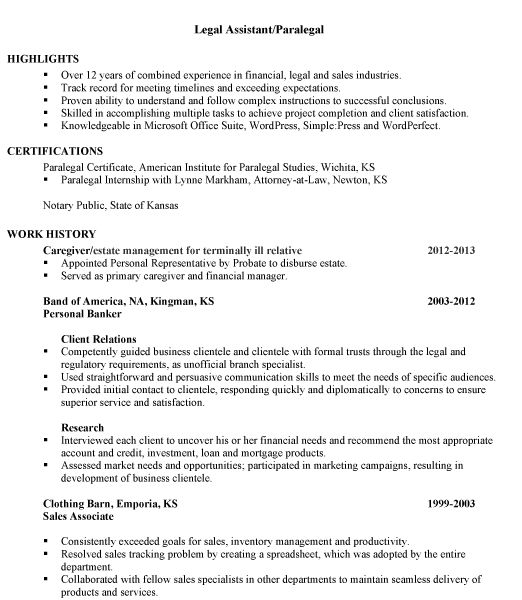 Lofty Paralegal Resume Sample 3 Combination Sample Legal Assistant ...