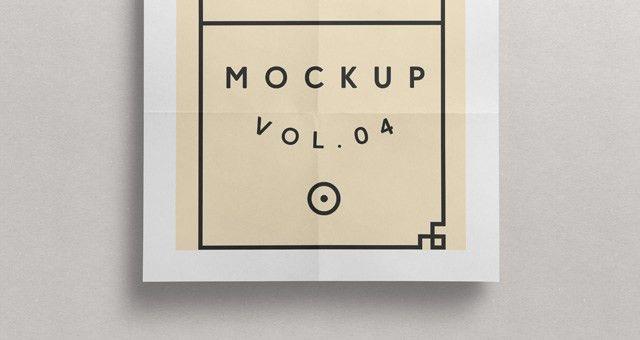 Psd Poster Mockup Presentation Vol4 | Psd Mock Up Templates | Pixeden