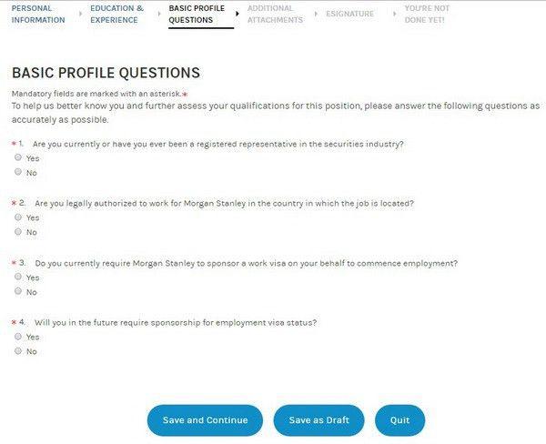 Morgan Stanley Career Guide – Morgan Stanley Application | Job ...