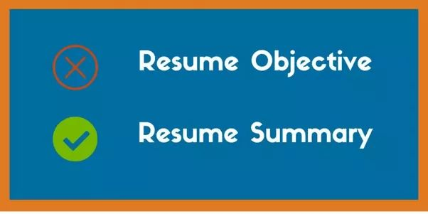 Summary Vs Objective Resume. how to write a college admissions ...