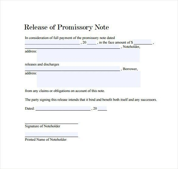 Promissory Note Word Document, general promissory note template ...