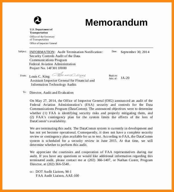 12+ an example of a memorandum | musicre sumed