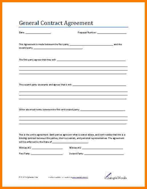 Draft Agreement Between Two Parties   Howto.billybullock.us