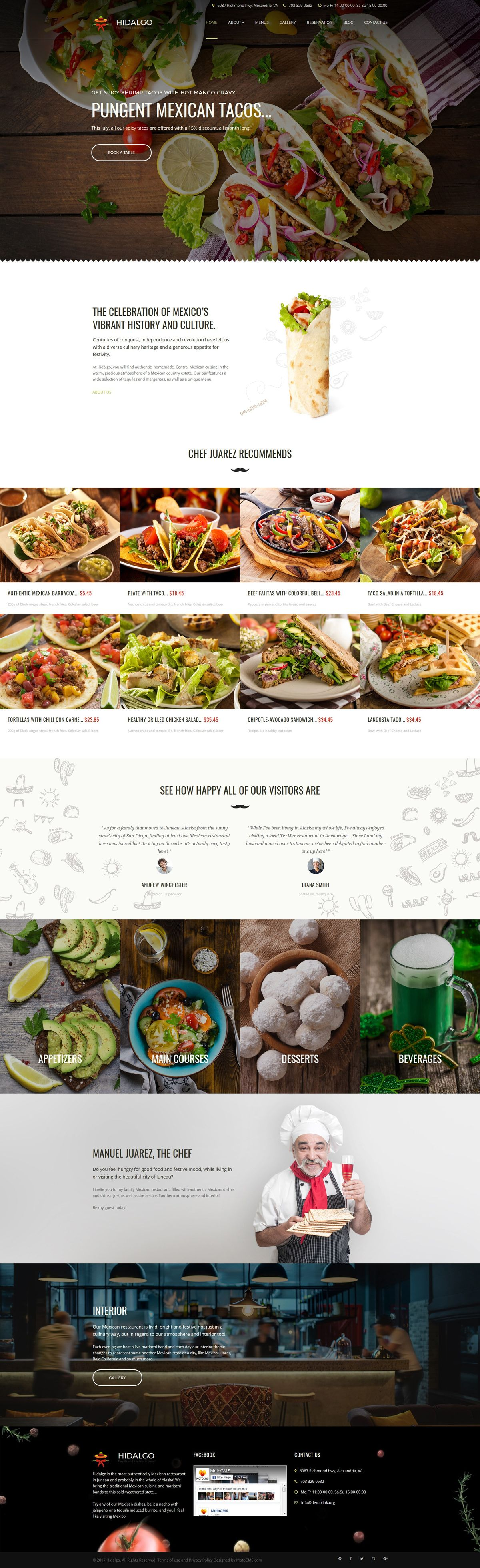Restaurant Templates | Cafe Templates