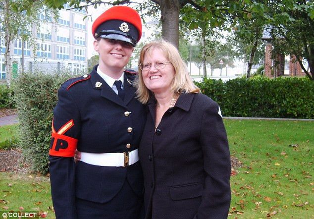 Girlfriend of soldier accused of raping a Royal Military Police ...