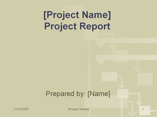 Project report - Office Templates