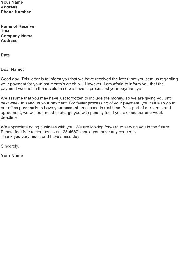 Customer Service Letter Sample - Download FREE Business Letter ...