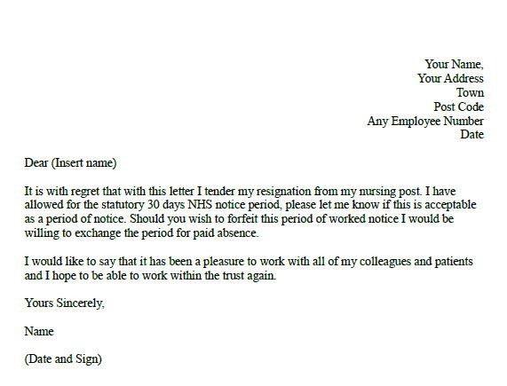 Sample Resignation Letter 2 Week Notice Sample Of Resignation ...
