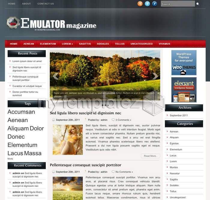 Free Templates - Web Templates, Website Templates, Wordpress ...