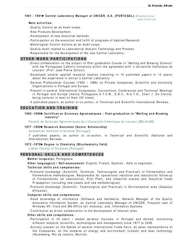 Lab Manager Resume - Contegri.com