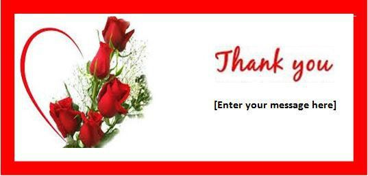 Thank You Card Templates for MS Word   Formal Word Templates