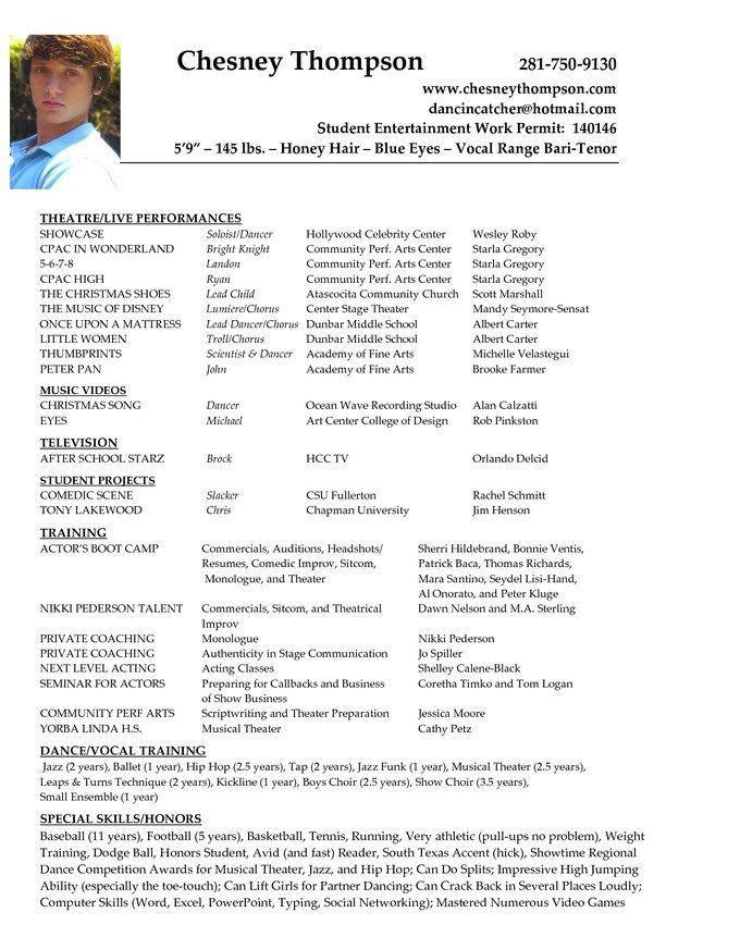 Beginner Acting Cover Letter