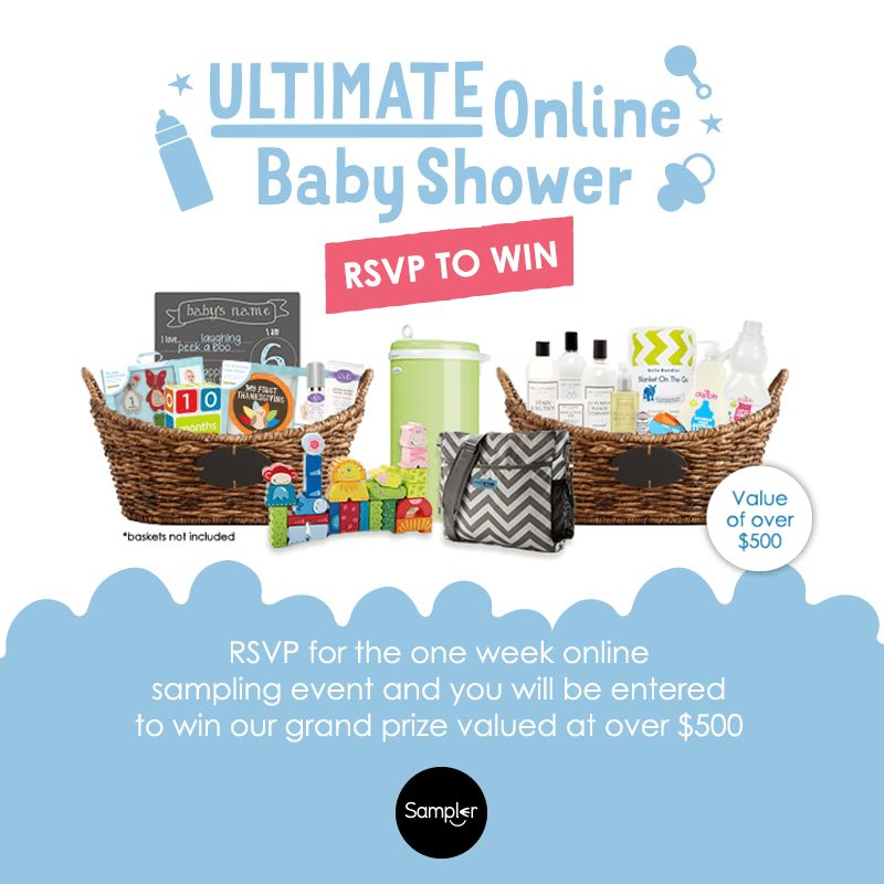 Ultimate Online Baby Shower with Sampler: Free Samples and Flash ...