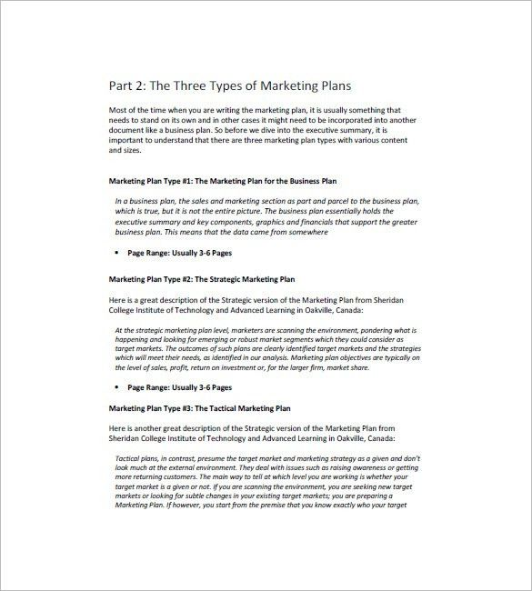 Marketing Campaign Plan Template – 12+ Free Word, Excel, PDF ...