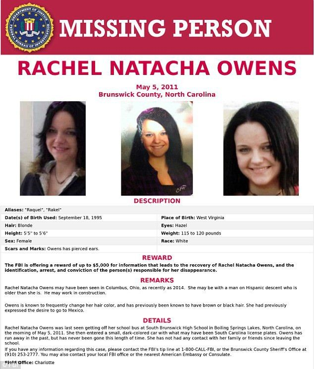 Rachel Owens located in Ohio FIVE YEARS after going missing and ...