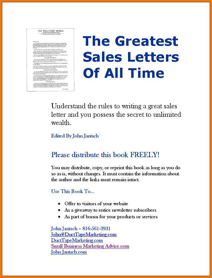 5+ sales letter sample | postal-carrier