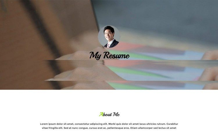 7 Best Free Resume Templates Built on HTML5