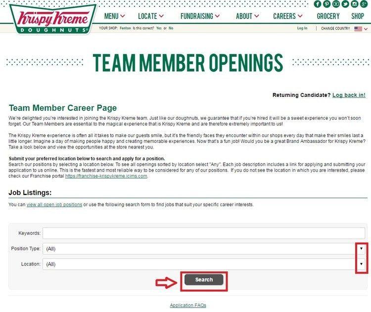 How to Apply for Krispy Kreme Jobs Online at krispykreme.com/careers