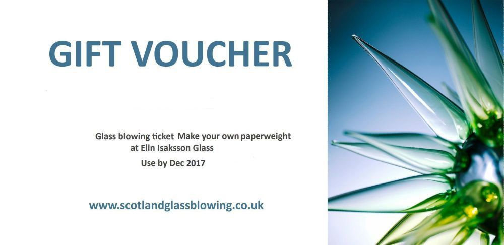 Gift Voucher. Make your own Paperweight (Valid until Dec 2017)