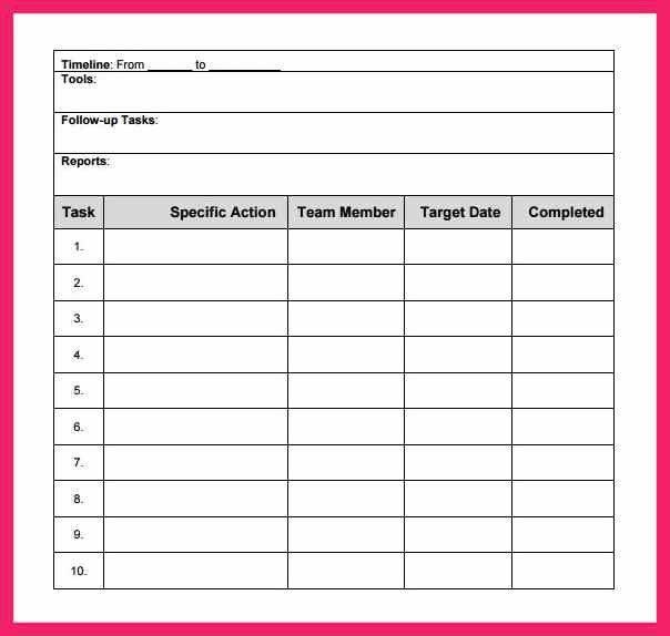 action plan template excel | bio letter format