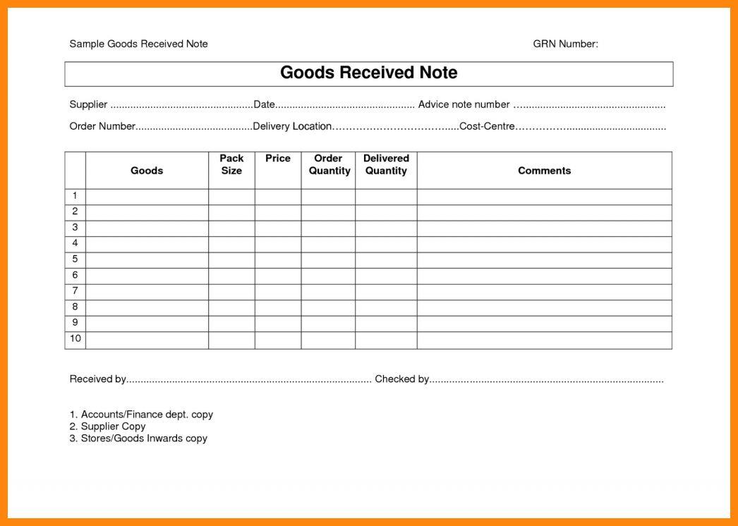 10+ good received note format | nurse resumed