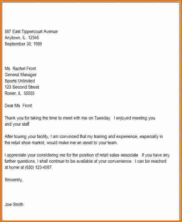 7+ follow up letter after interview   Expense Report