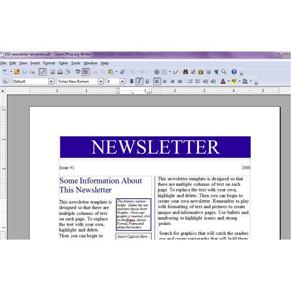 Tips for Creating a Recipe Newsletter or Cooking Pamphlet with ...