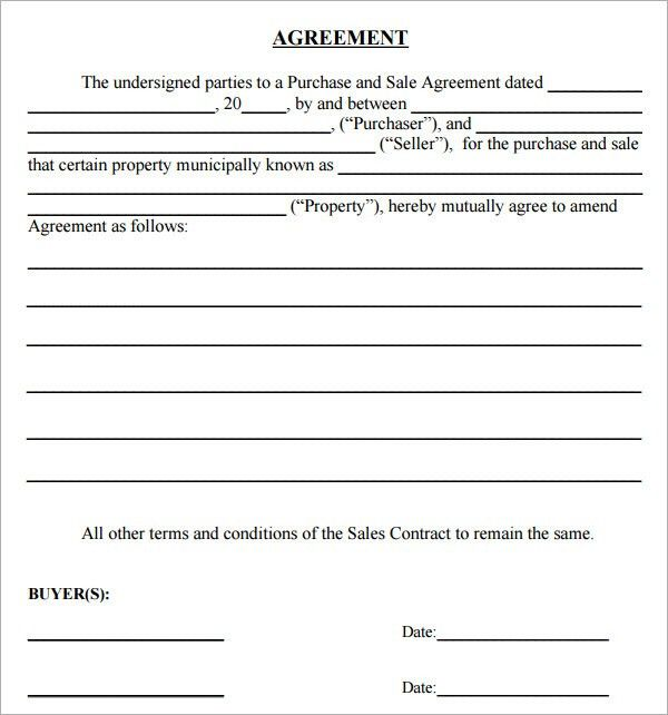 Purchase Agreement - 8+ Download Free Documents in PDF, Word