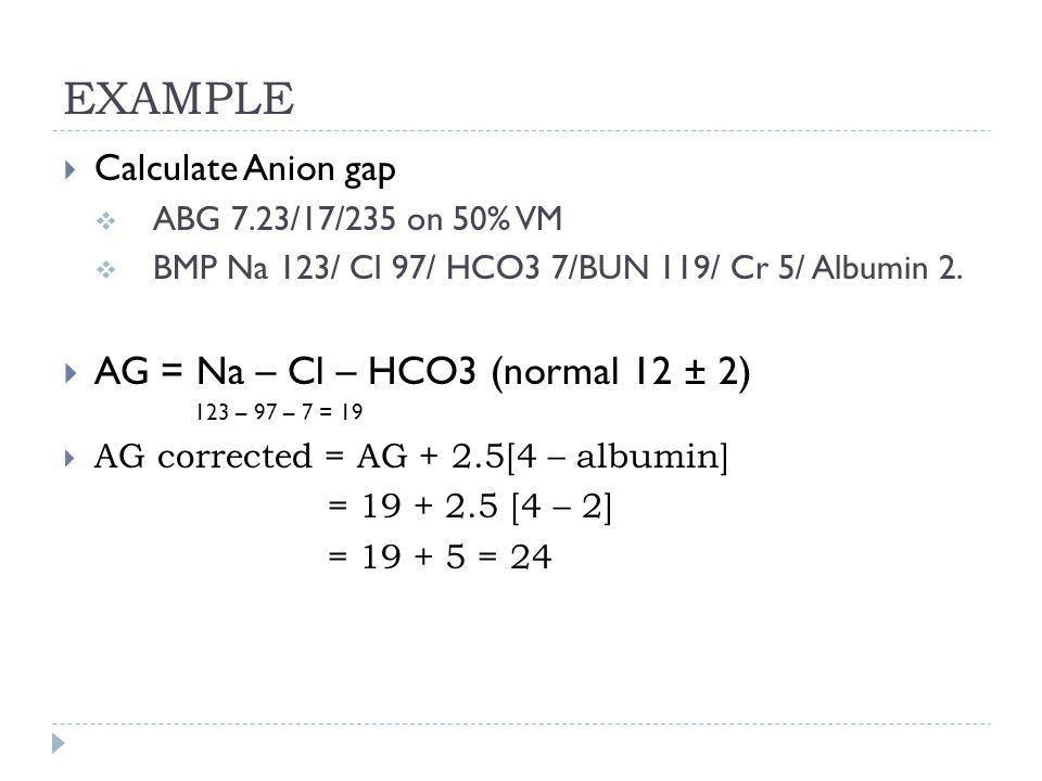 Anion Gap Equation - Jennarocca