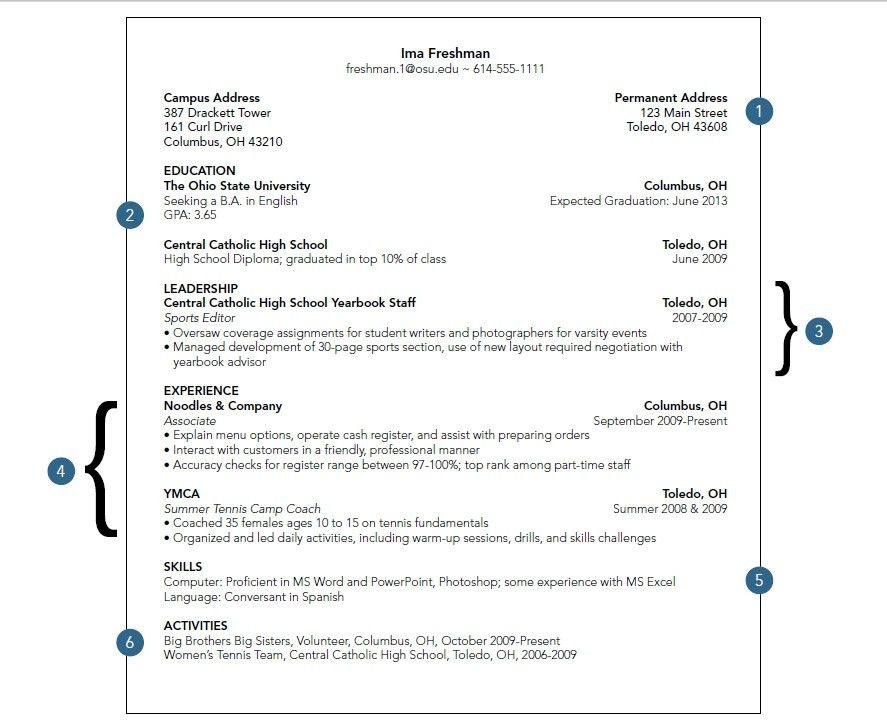 College Resume Examples. Current College Student Resume Is ...