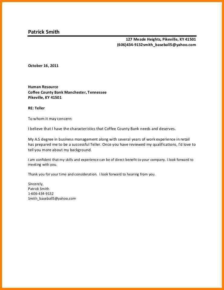 Cover Letter Template To Whom It May Concern | Documents, Letters ...