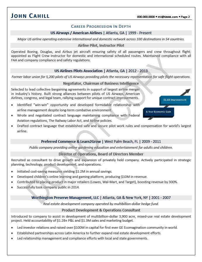COO Resume / Chief Operating Officer Resume Samples | Mary ...