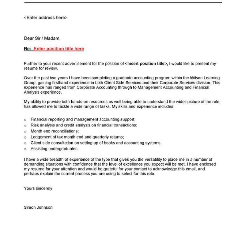 Dazzling Recent Graduate Cover Letter 8 - CV Resume Ideas