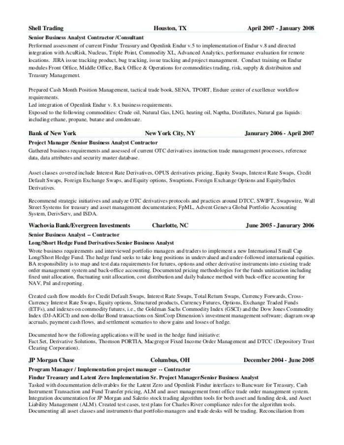 Oil Broker Cover Letter