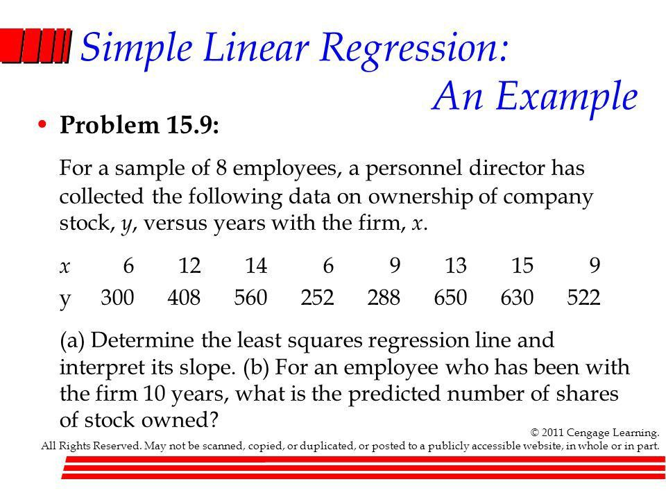 CHAPTER 15 Simple Linear Regression and Correlation - ppt video ...