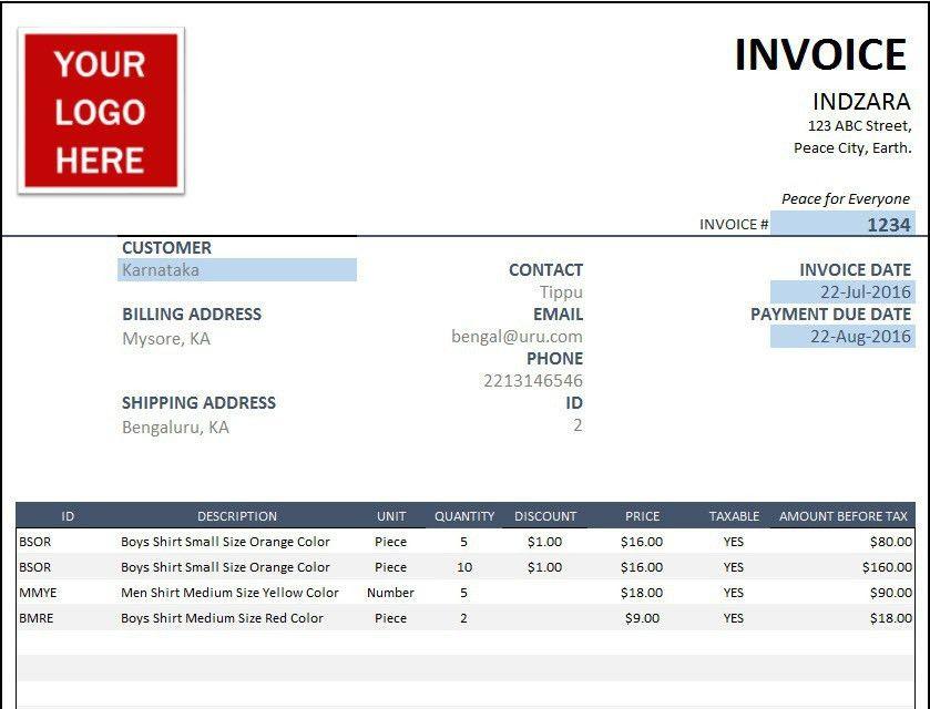 Occupyhistoryus Stunning Free Invoice Template Sales Invoice ...