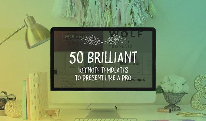 50 Brilliant Keynote Templates To Present Like a Pro ~ Creative ...