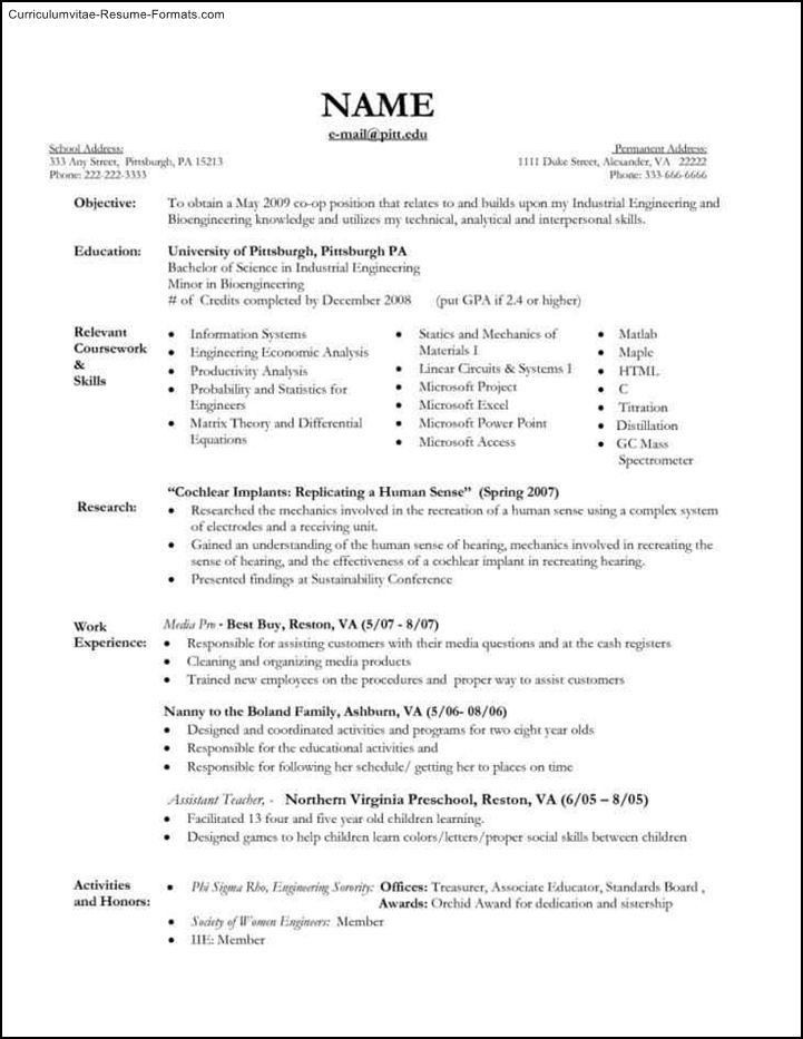Nanny Resume Template. Executive Format Resume Resume Samples Best ...