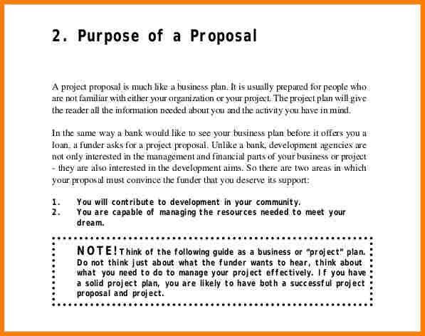 7+ project proposal template | Proposal Template 2017
