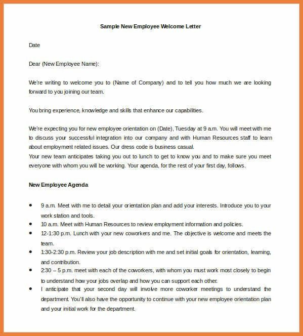 Counter Offer Letter. New Employee Welcome Letter | Sop Proposal ...