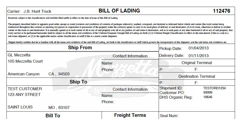 MercuryGate Tip: Customize Your Bill of Lading - Supply Chain Coach
