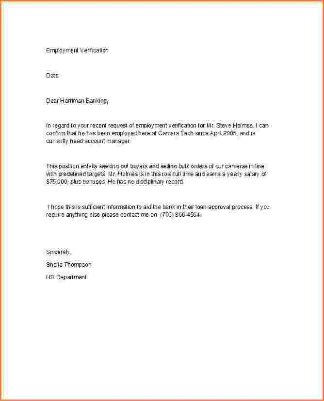 Employment Proof Letter. proper proof of employment letter ...