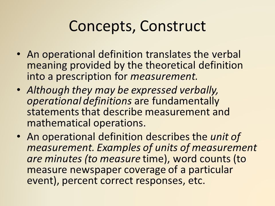 Research Problem Statement Construct, Concept and Variables - ppt ...