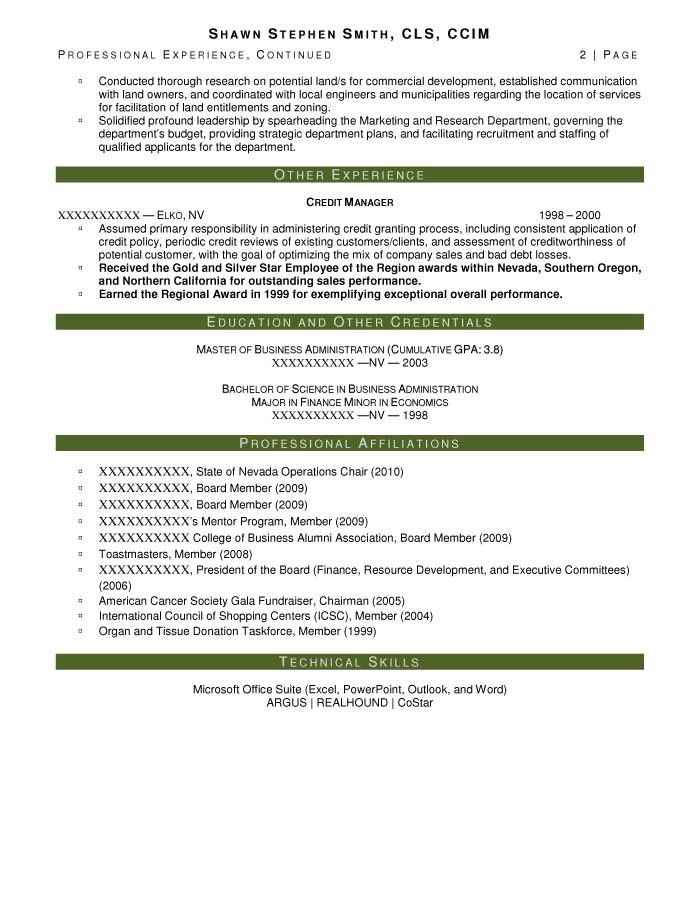 Executive Resume Samples - Resume Prime