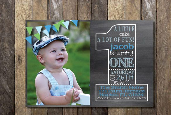 First Birthday Invitations Templates - iidaemilia.Com