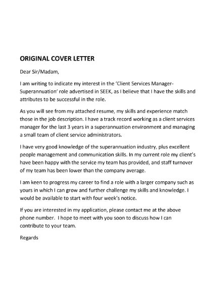 Cover Letter Services | Absolute Resume